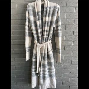 Eddie Bauer Lounge cozy, long wrap sweater